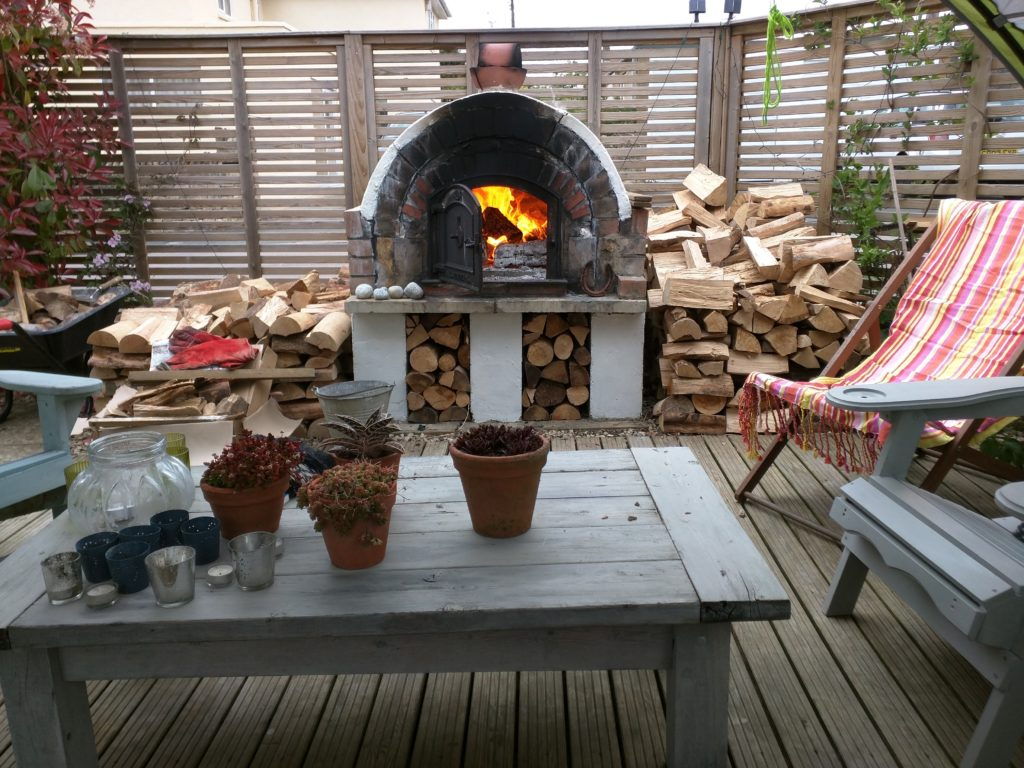 Pizza Oven Deck